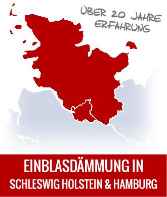 Einblasdämmung und Kerndämmung in Schleswig Holstein und Hamburg