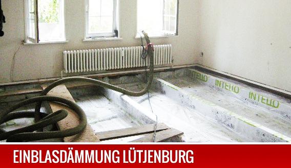 Dämmung einer Geschossdecke in Lütjenburg.