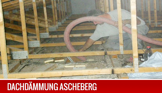 Dachdämmung in Ascheberg.