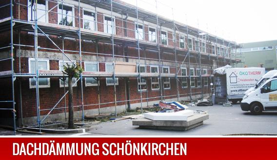 Dachdämmung in Schönkirchen