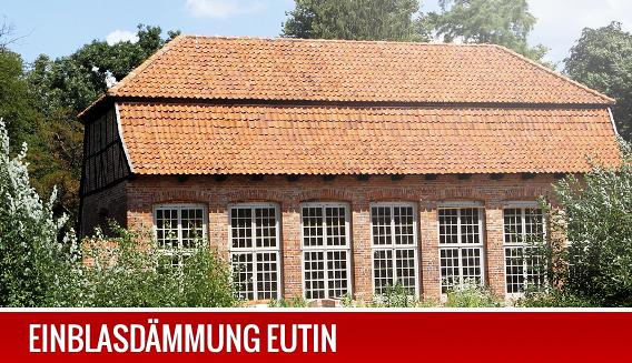 Einblasdämmung in Eutin.